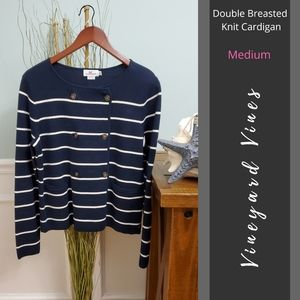 Vineyard Vines | Double Breasted Knit Cardigan